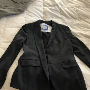 JCrew Super 120s Pinstripe Suit